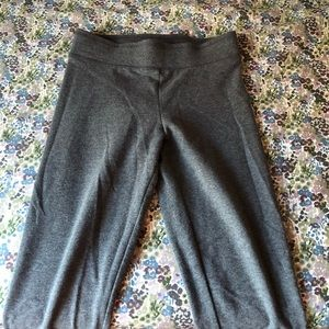 Garage Gray & Black High Waisted Leggings.